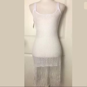 Manaple Open Knit Beach Cover Up Dress Size M